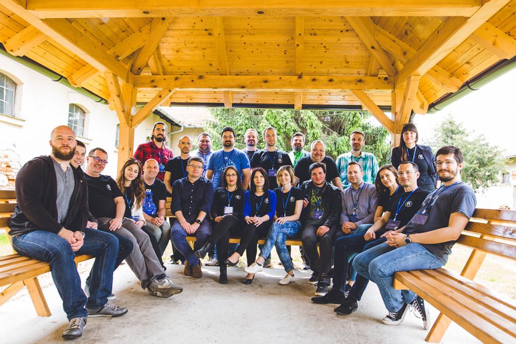 Organizacijski tim s predavačima Weblice 2017.